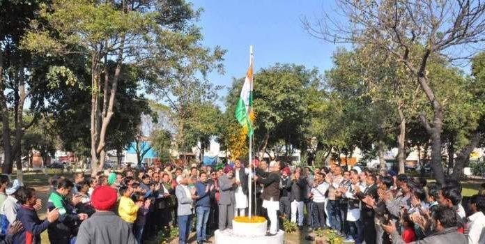 पहली बार औद्योगिक क्षेत्र फेस 2 में मनाया गणतंत्र दिवस - भसीन